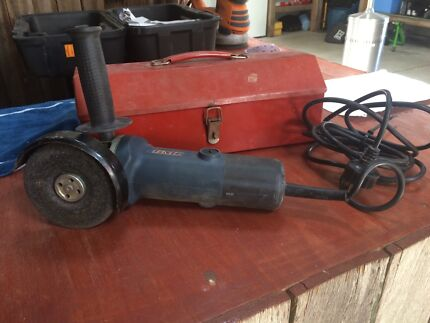Angle Grinder GMC 600w In Metal Carry Box AS NEW Invermay Ballarat City Preview