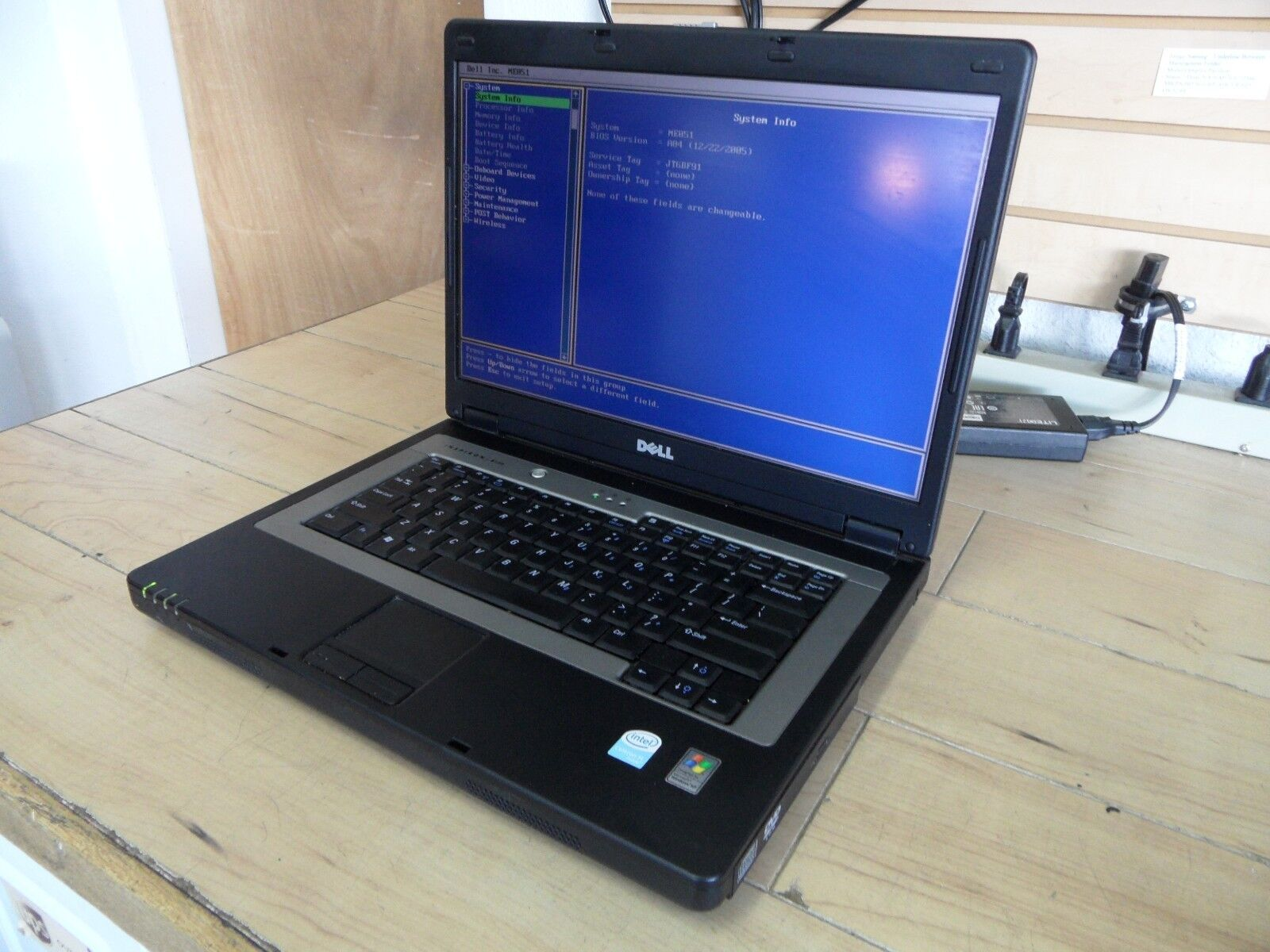 Dell Inspiron B130 Laptop For Parts Posted Bios No Hard Drive *