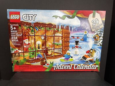 LEGO City 60235 CHRISTMAS ADVENT CALENDAR 234PCS New & Retired 2019