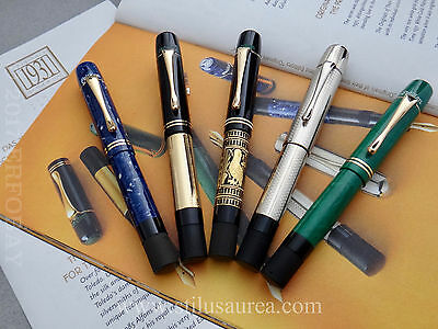 PELIKAN ORIGINALS OF THEIR TIME FULL SET JADE LAPIS GOLD TOLEDO #11 MATCHING