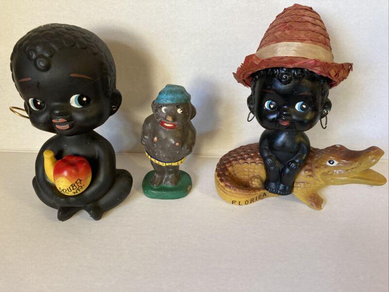 Vintage Black Americana Nodders