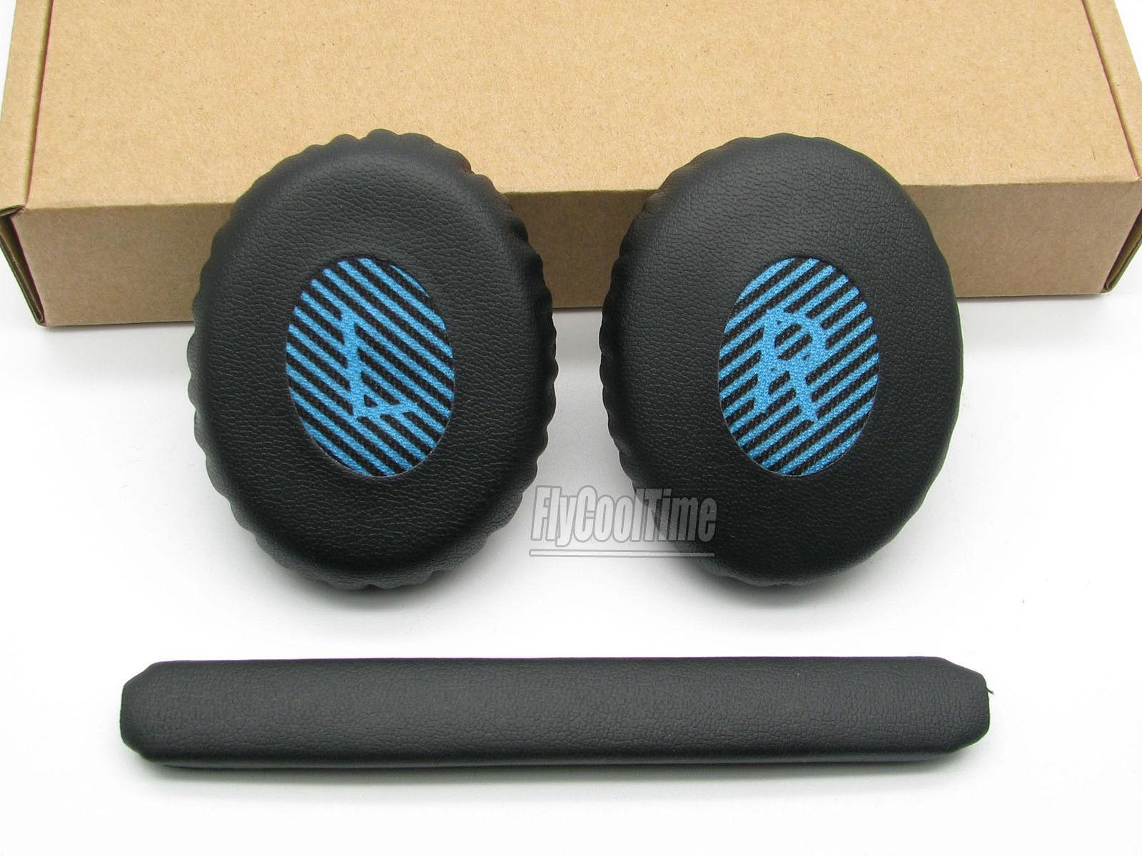 Black Blue Repalcement Head Cushion&Earpad Ear Pads For Bose SoundLink OE2 OE2i