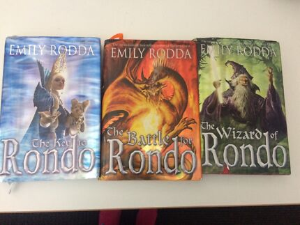 The key to rondo triology by Emily rodda  Seabrook Hobsons Bay Area Preview