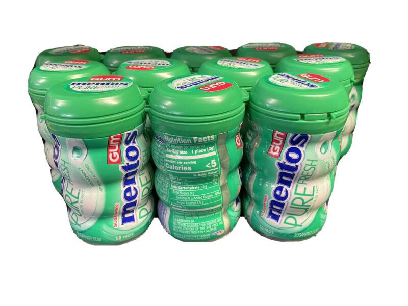 12 Mentos Gum