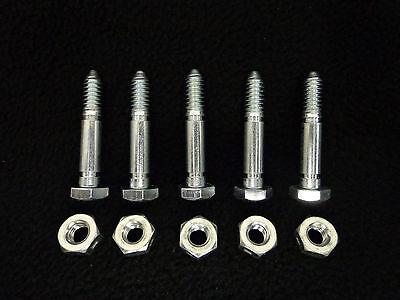 5 Stück Scherbolzen Schneefräse M8 8mm x 50mm universal für viele Hersteller