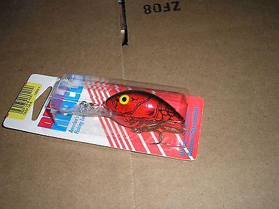 "Bomber B06AXC5 2-1//8/"" Model-A Deep Runner Apple Red Crawdad 14380"