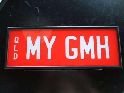 MY GMH Number Plate Holden HSV Brock Commodore Ute Torana Monaro