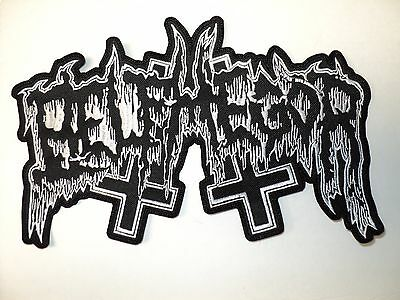 Нашивки BELPHEGOR SHAPED LOGO EMBROIDERED BACK