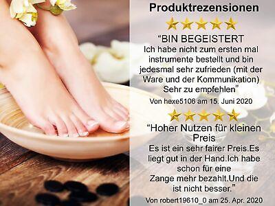 Fußpflege Pediküre Set Nagelzangen und Instrumente GRUNDAUSSTATTUNG