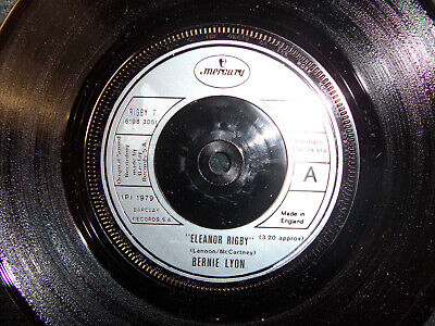 Lyon Single (Bernie Lyon - Eleanor rigby / Babylon is not a dream    UK Mercury 45)