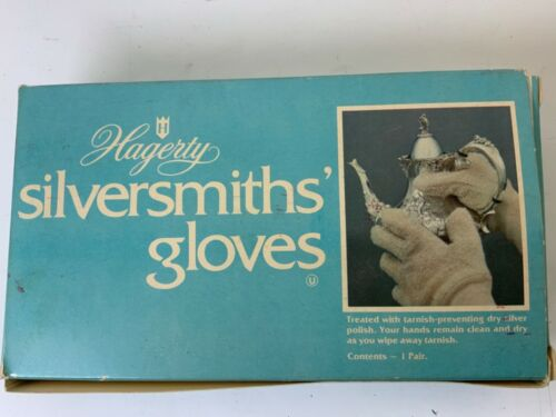 Hagerty Silversmiths Gloves Tarnish Preventative