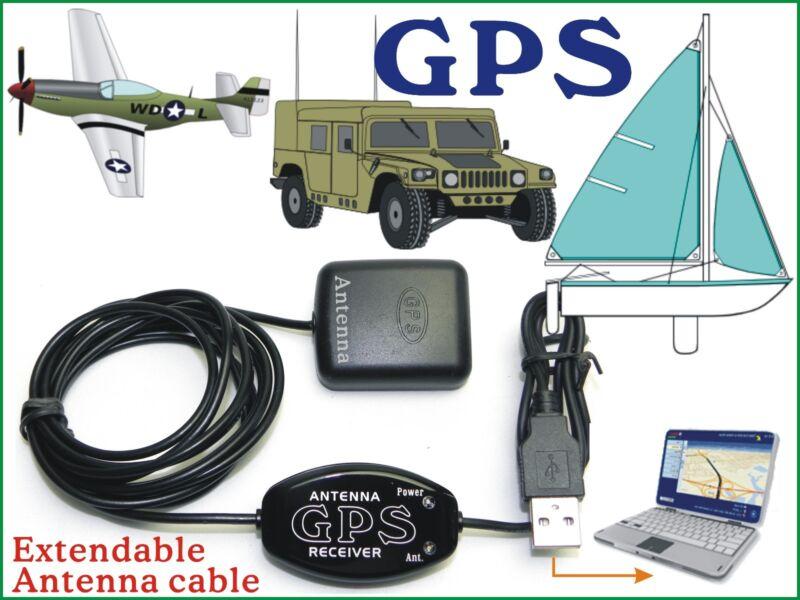 Satellite GPS Receiver 4 Laptop PC Android Tablet/ Google Cmap Garmin NMEA Map E