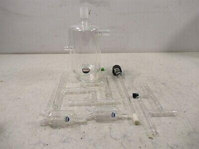 Lot Of Radnoti Laboratory Glassware Double Chamber