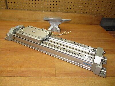 Festo Dgpl-18-260-ppv-a-hd18-gk-d2 Rodless Pneumatic Linear Slide Rail 10 Trvel