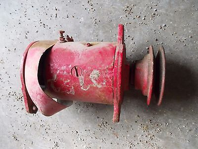 Farmall Ih H Hv Sh M Mv Sm Tractor 6v Generator - Good Belt Drive Front Pulley