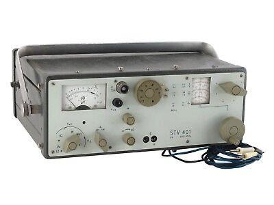 Stv 401 0.26mhz-300mhz Selective Microvoltmeter Veb Messelektronik Gdr Rft