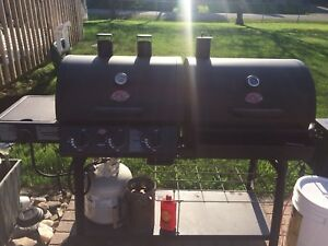 Char-Griller Propane BBQ Combination with Charcoal