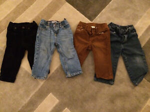 12-18 months jeans and cords