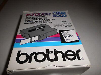Schriftbandkassette Brother TX-251
