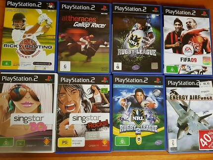 PS2 Game Bundle - 8 Games for Playstation 2