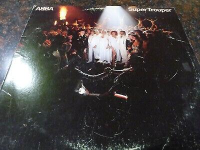 "ABBA SUPER TROUPER Original VINYL 12"" LP 1980 ATLANTIC SD 16023 DISCO RECORD"