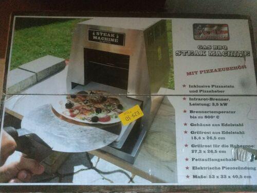 ACTIVA Grill Steak Machine Gasgrill Steak-Grill 800 Grad Pizzagrill Pizzaofen