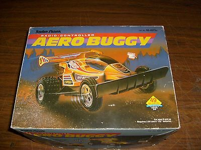 Radio Shack Radio Controlled (RC) Off Road Aero Dune Buggy Car NEW In Box - RARE