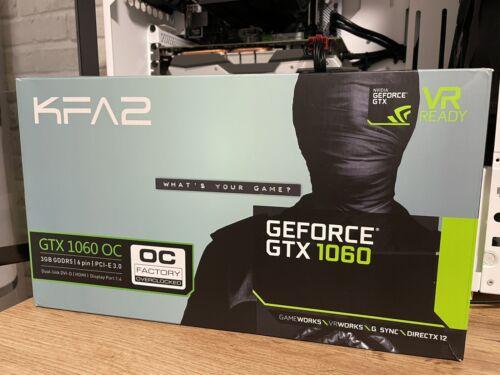 KFA2 NVIDIA GeForce GTX 1060 OC 3GB GDDR5 Grafikkarte TOP Zustand