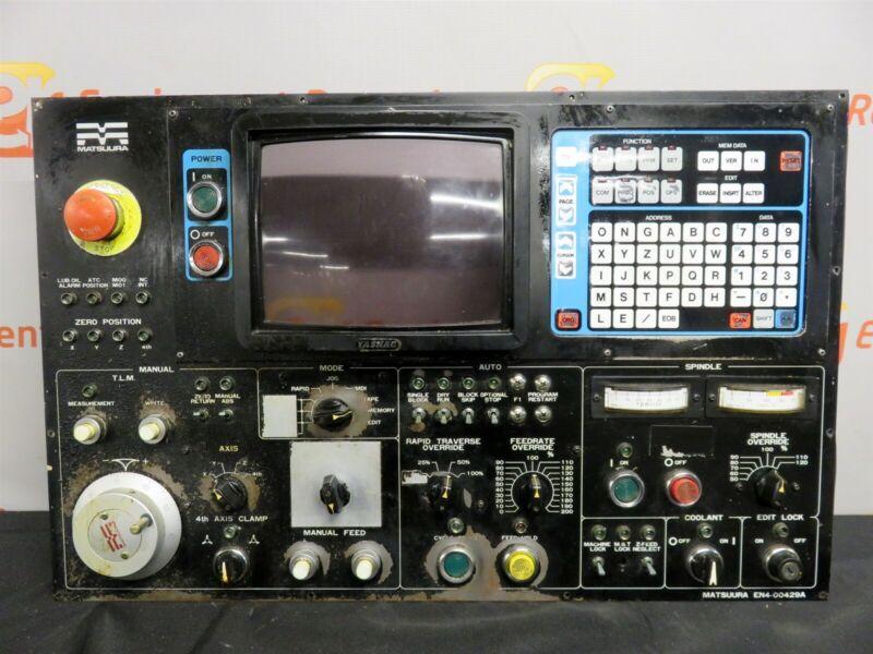Matsuura EN4-00429A Main Operator Control Panel MGX 10B CNC Machine