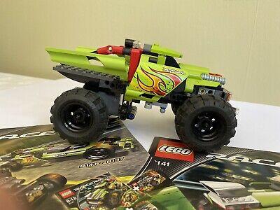 Lego Racers Kit - Monster Truck - Pull Back & Go - Full Instructions #8141 VGC