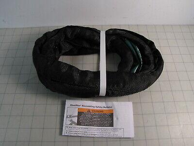 Lift-all Gacen60x6 6ft Black Endless Steel Flex Gac Roundsling New