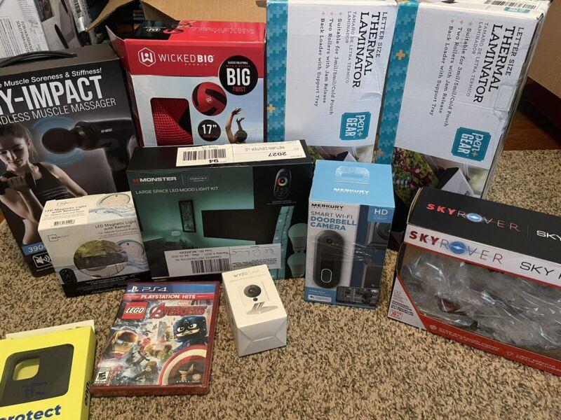 Walmart Liquidation wholesale Box Lot- Mixed items