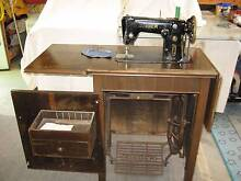 HEAVY DUTY SINGER TREADLE ZIG-ZAG 306M SEWING MACHINE. Camp Hill Brisbane South East Preview