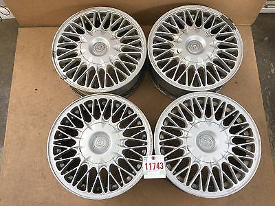 "1992 92 1993 93 1994 94 Mazda 929 Alloy Wheel Rim Set 15"" OEM USED 11743"