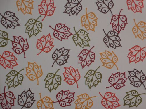 "35 silhouette leaves in 5 shades of autumn colors   2""  die cuts"
