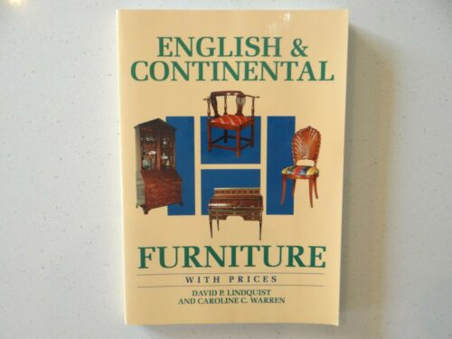 English & Continental Furniture with Prices Book by Lindquist and Warren