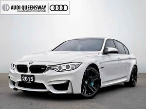 2015 BMW M3 6 Speed! No Accidents, Carbon Roof! Lease Me!