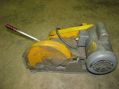 Everett Industrial Cutoff Chop Saw Material Cutting Machine 3450 Rpm 115v 1phase