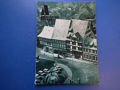 DDR Zeitschrift-Architektur der DDR Heft -7/1977-Leipzig-Dresden-Qudelinburg-