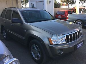2006 Jeep Grand Cherokee limited 4.7 v8 4x4 auto Wagon low klms Silver Sands Mandurah Area Preview