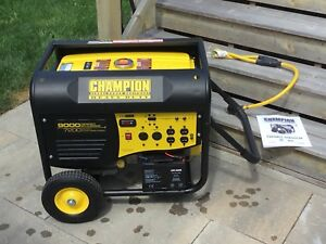 Champion 9000w Peak Portable gasoline generator