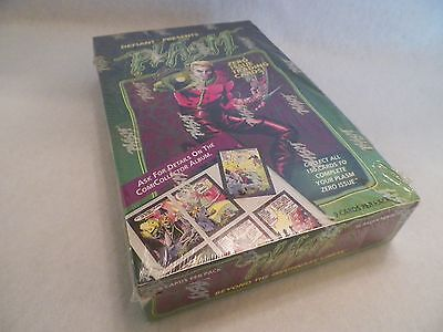 1993 Plasm Defiant Comic Book Trading Cards 36 Unopened Pack Box NS100