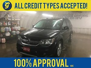 2012 Dodge Journey CREW*7 PASSENGER*REMOTE START*ALLOYS*ROOF RAC