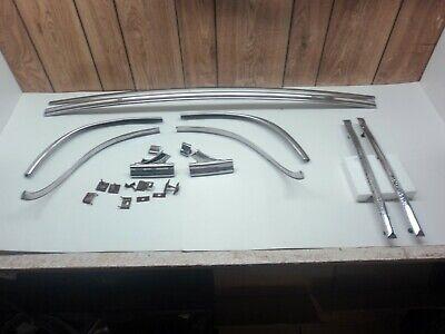 OEM 1951 Plymouth Cranbrook 2-Door Hardtop Rear Window Trim Molding Divider Bars ()