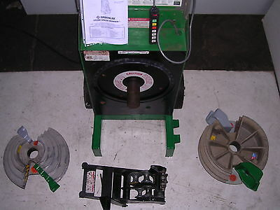 Greenlee 555 Sbc 854 855 Conduit Pipe Bender Emt Ridgid Imc 2 Shoes Multi-roller