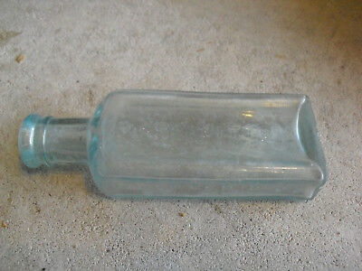 (Vintage SB Coff Herb Bitters Camden NJ Medicine Glass Bottle 5 1/2
