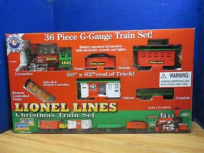 LIONEL MODERN G 7-11357 CHRISTMAS TRAIN SET 561271