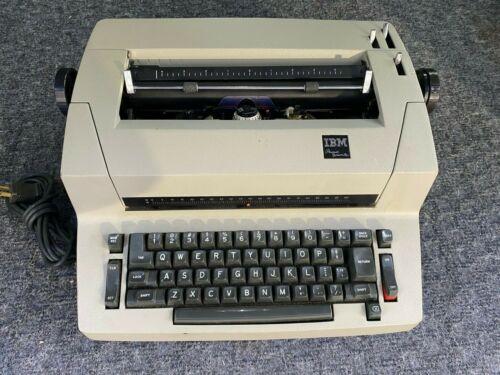 Rare USED IBM Personal Typewriter  For repair or PARTS
