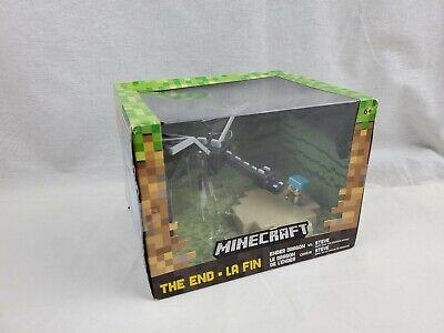 Minecraft Mini Figure Battle Box The End Ender Dragon vs Steve 2015