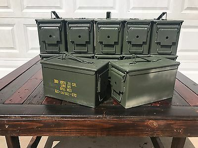 12 Pack 50 Cal M2a1 AMMO CANS BOXES CASES Good condition